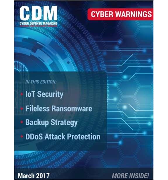 Cyber Warnings E-Magazine - March 2017 Edition Screenshot