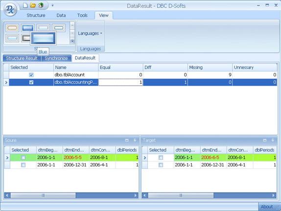 D-softs DB Compare Screenshot 8