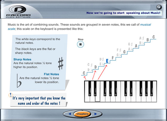 DAccord Keyboard Method - Music Software Download for PC