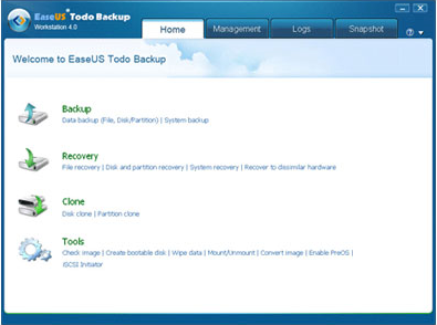 EaseUS Data Recovery Wizard + EaseUS Partition Master Pro WinPE +  EaseUS Todo Backup Workstation + EaseUS Gift Box Screenshot