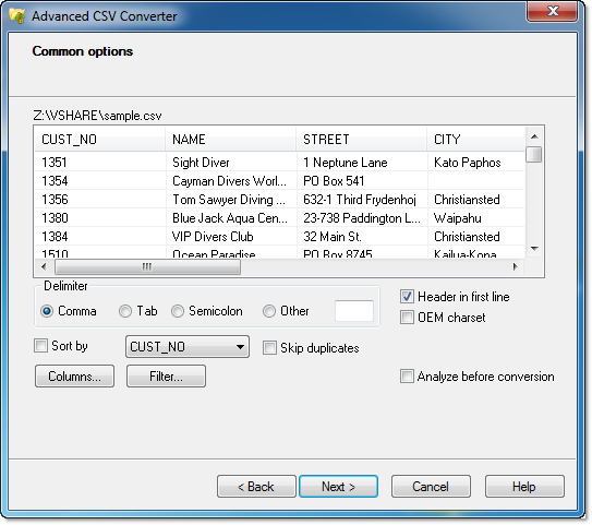 Database Converters (Personal License), Software Utilities, Other Utilities Software Screenshot