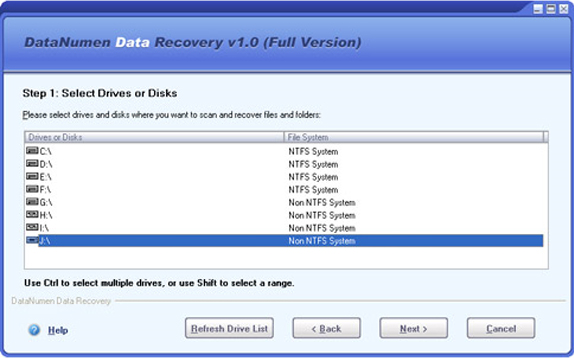 Files and Folders Software Screenshot