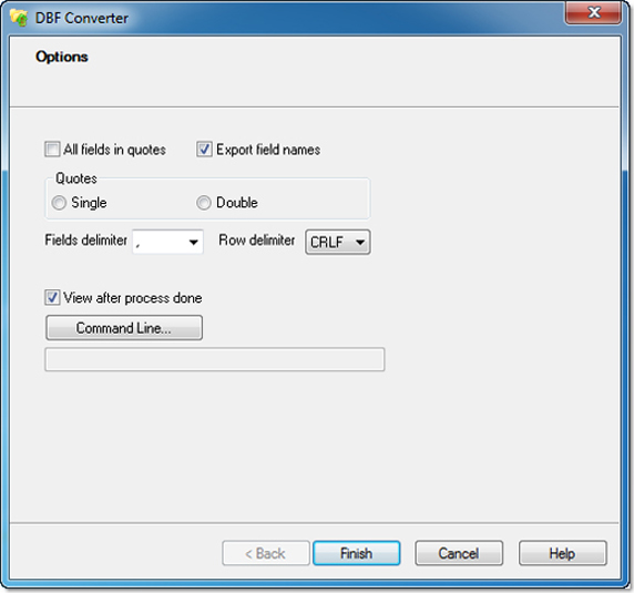 Database Conversion Software, DBF Converter Screenshot