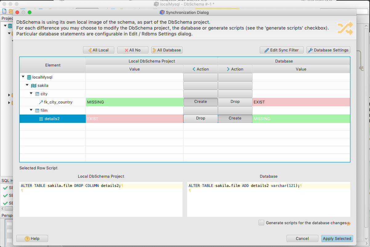 DbSchema: Database Diagram Designer Screenshot 10