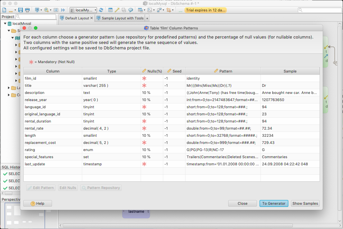 DbSchema: Database Diagram Designer Screenshot 9
