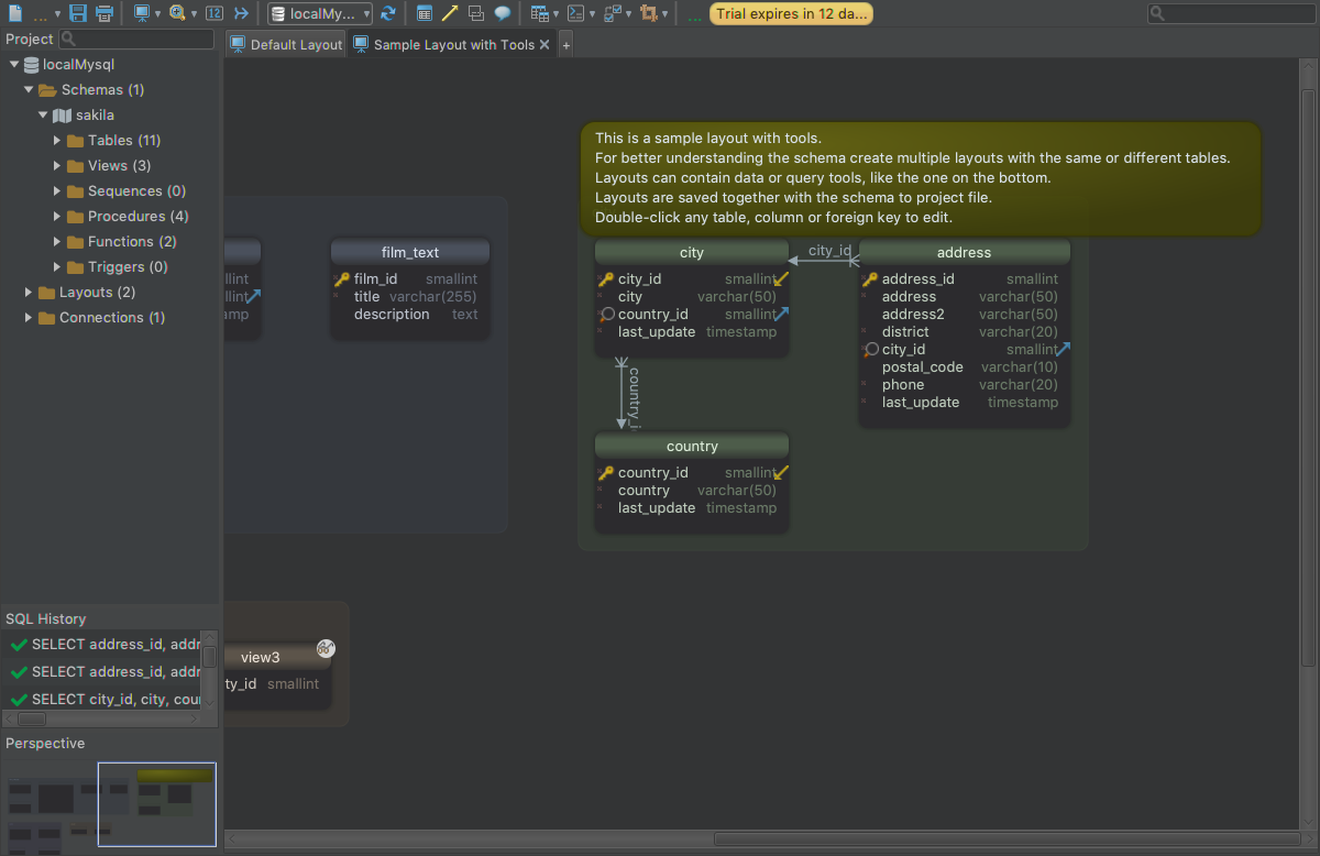 Development Software, Database Software Screenshot