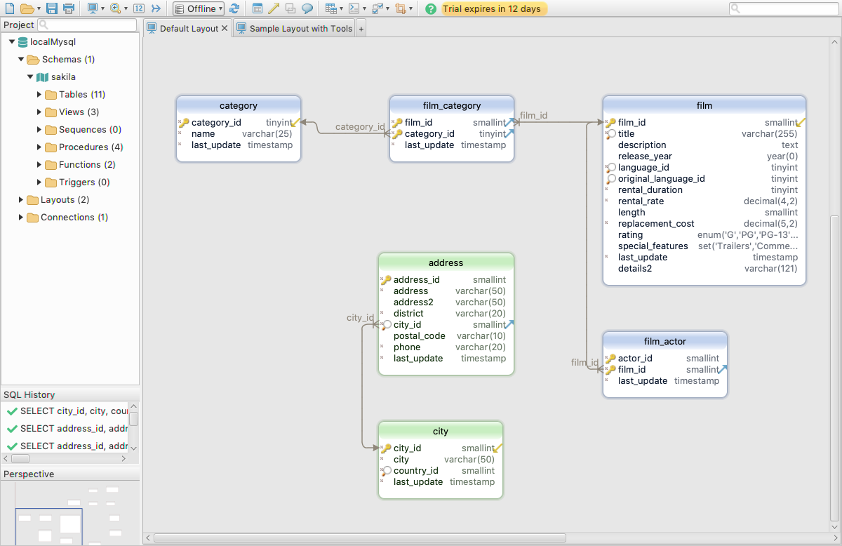 DbSchema: Database Diagram Designer Screenshot 12