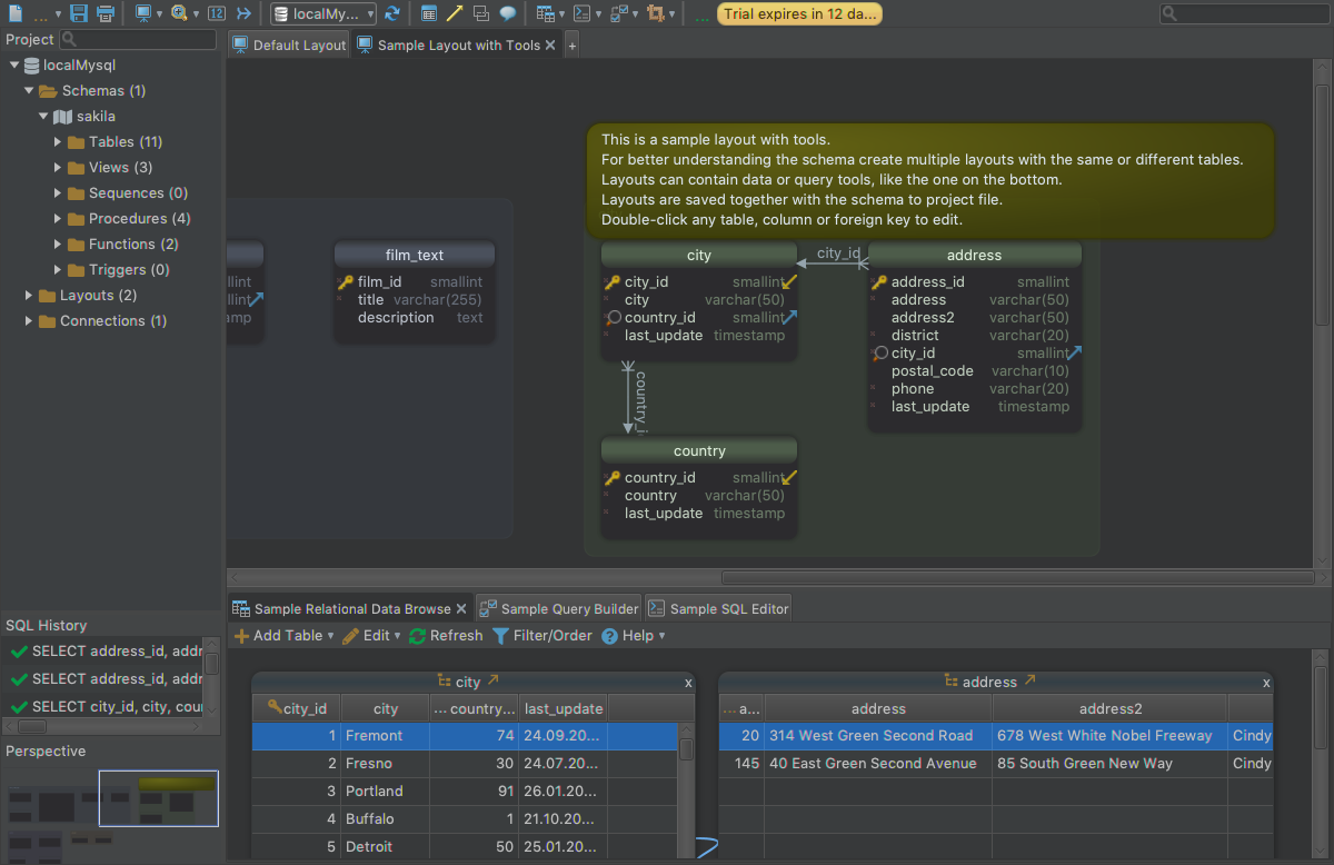 Development Software, DbSchema: Database Diagram Designer Screenshot