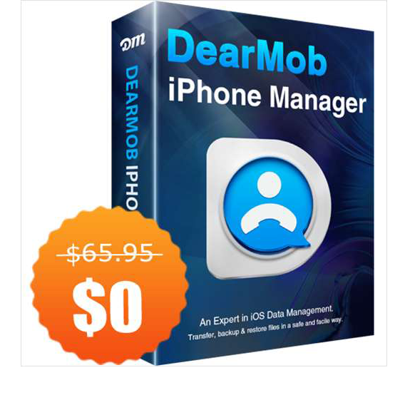 DearMob iPhone Manager for Win/Mac ($67.95 Value) FREE for a Limited Time Screenshot