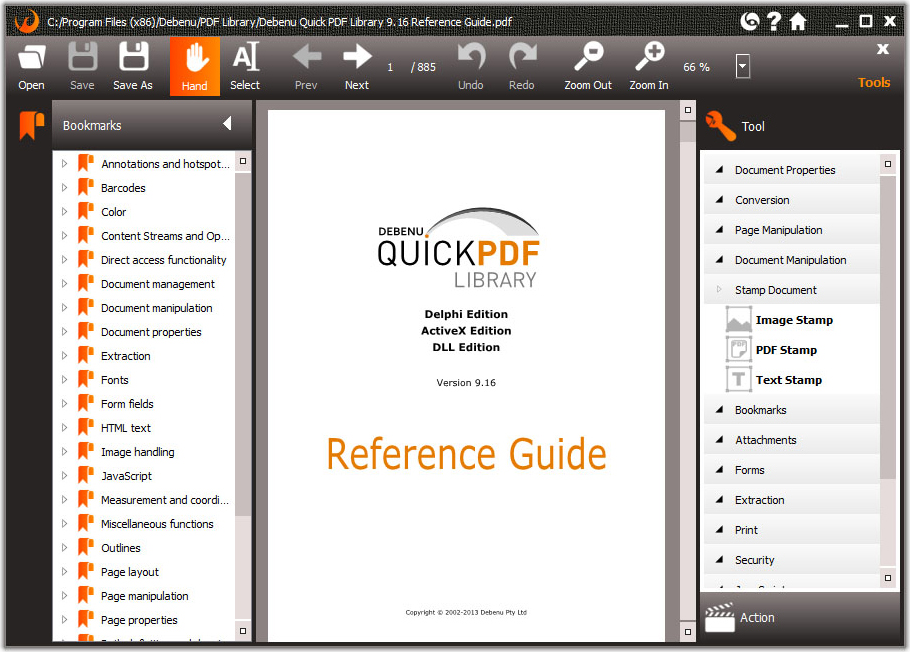 PDF Utilities Software Screenshot
