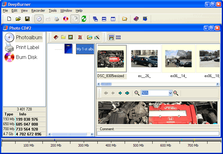 DVD Burner Software, DeepBurner Pro Screenshot