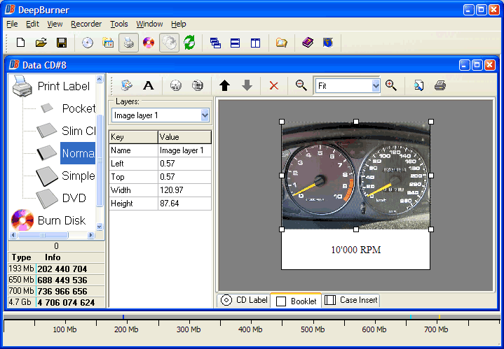 Video Software, DVD Burner Software Screenshot