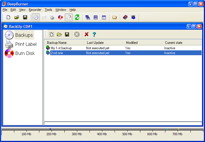 Video Software, DeepBurner Pro Screenshot