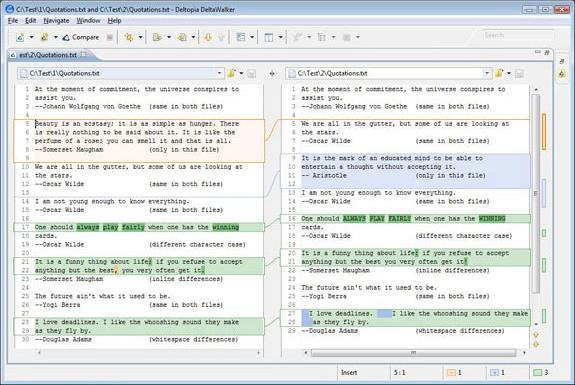 File Management Software, DeltaWalker Screenshot