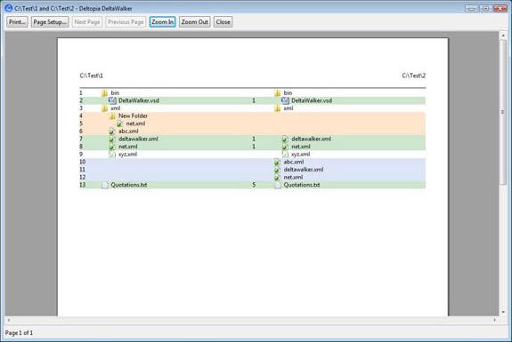 Software Utilities, DeltaWalker Screenshot