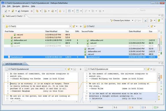 DeltaWalker, Software Utilities Screenshot