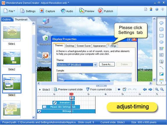 DemoCreator, Hobby, Educational & Fun Software Screenshot
