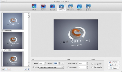 Graphic Design Software, DesignBox Screenshot