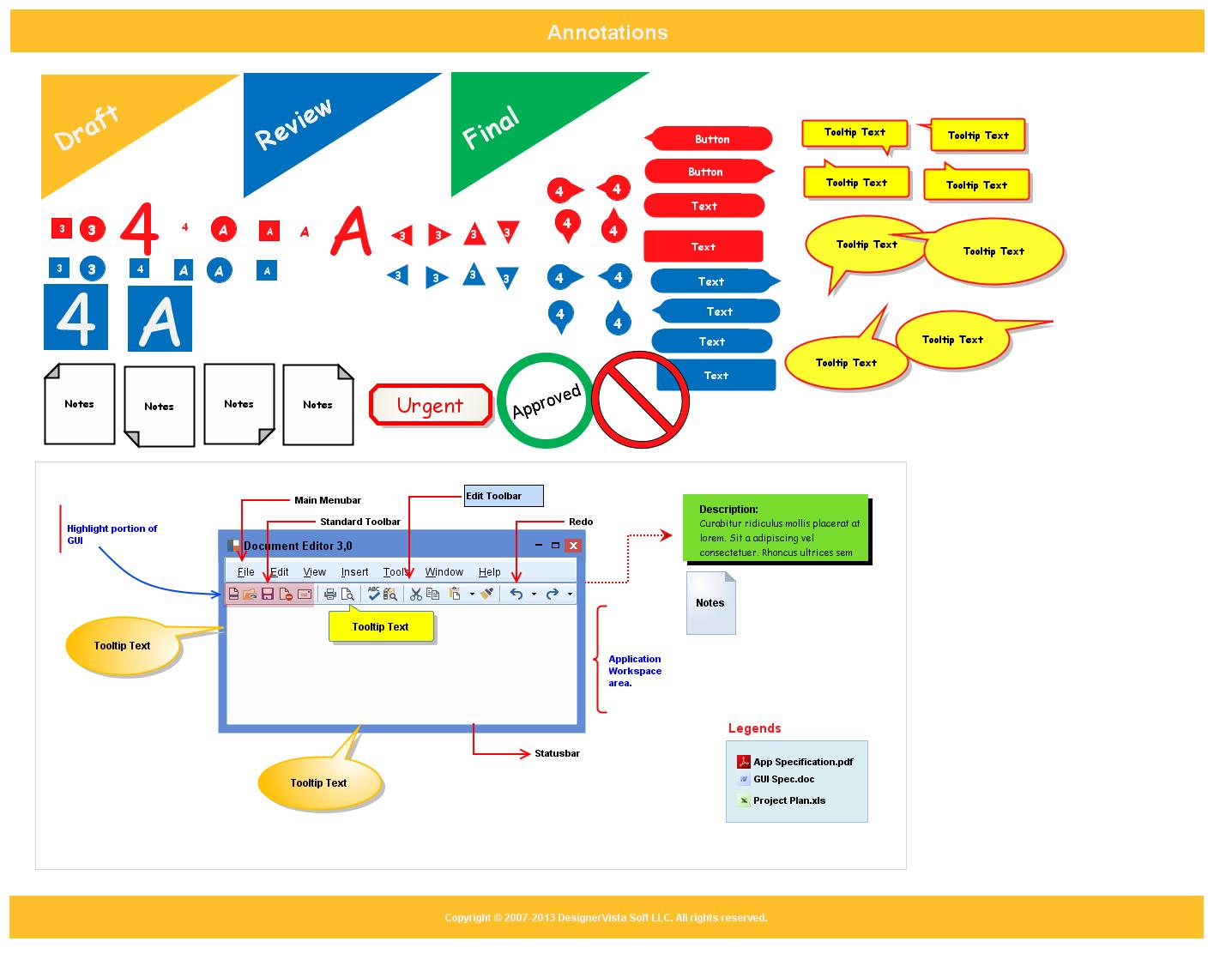 DesignerVista GUI Mockup Tool Screenshot 12