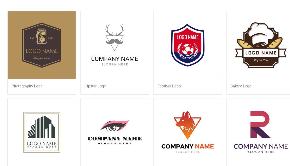 DesignEvo, Graphic Design Software Screenshot