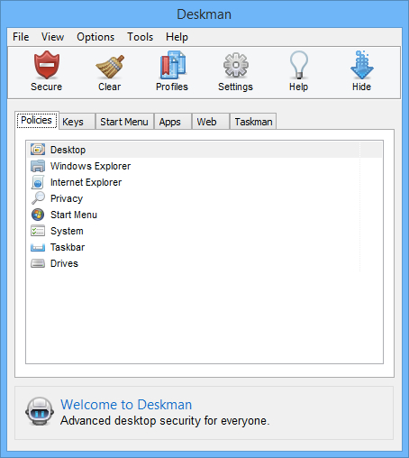 Deskman 15 Screenshot