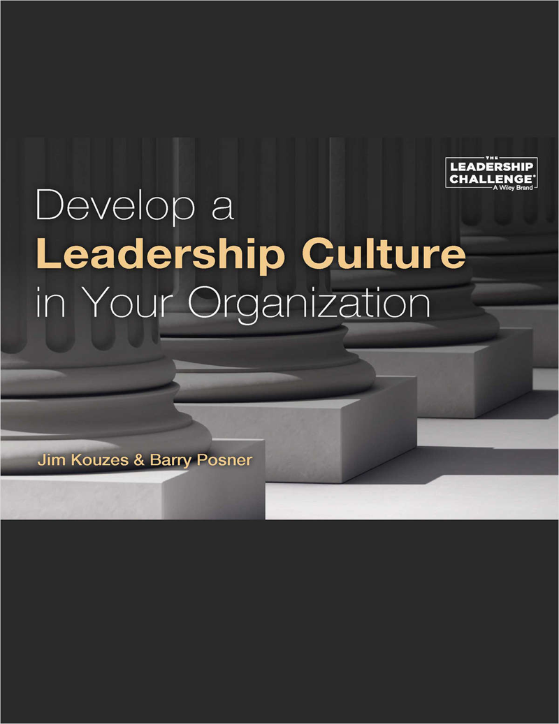 Develop a Leadership Culture in Your Organization Screenshot