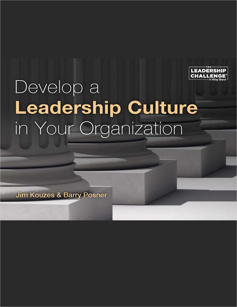 Develop a Leadership Culture in Your Organization Screenshot
