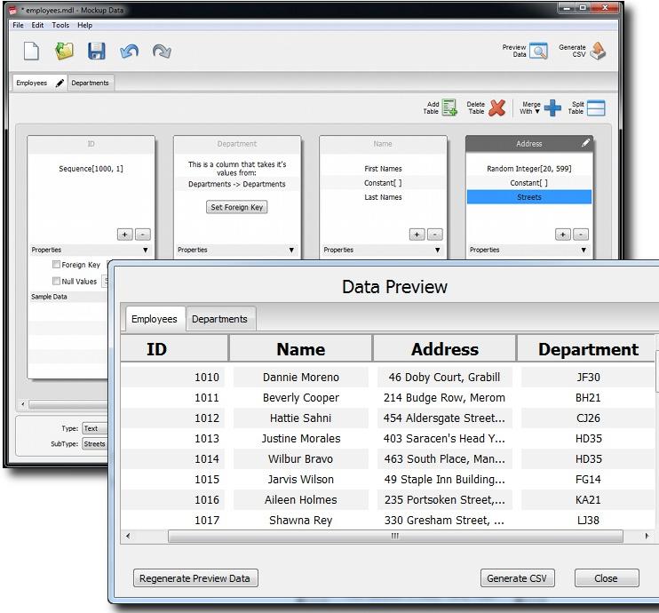 Development Tools Software, Developer Bundle: MockupScreens and MockupData Screenshot