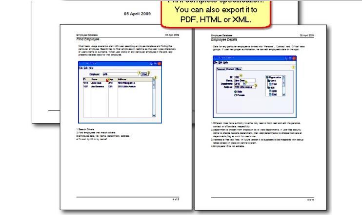 Development Software, Developer Bundle: MockupScreens and MockupData Screenshot