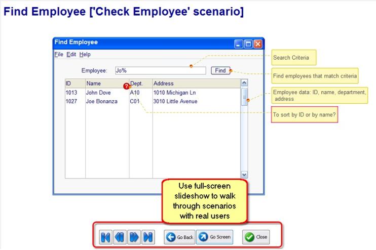 Developer Bundle: MockupScreens and MockupData, Development Tools Software Screenshot