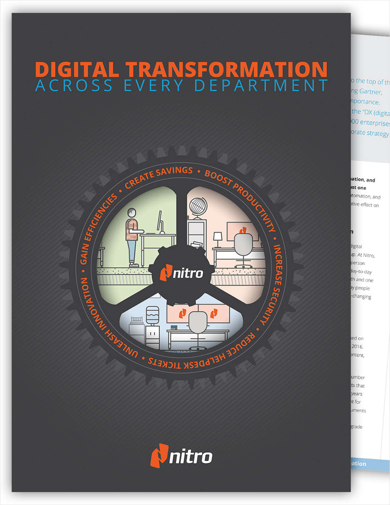 Digital Transformation Across Every Department Screenshot