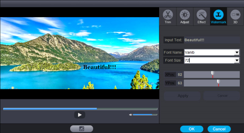 Dimo 4K Video Converter, Video Converter Software Screenshot