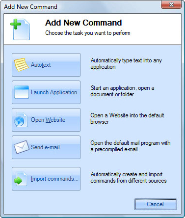 Direct Access, Productivity Software, Typing Software Screenshot