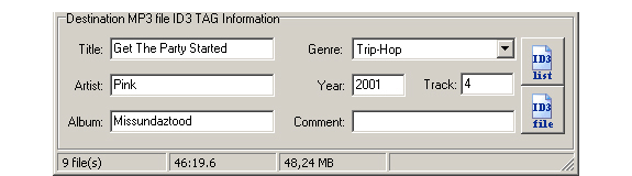 MP3 Recording Software Screenshot