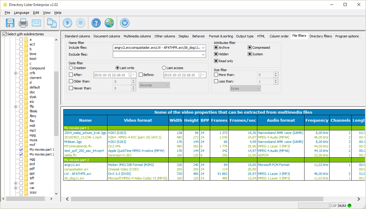Software Utilities, File Management Software Screenshot