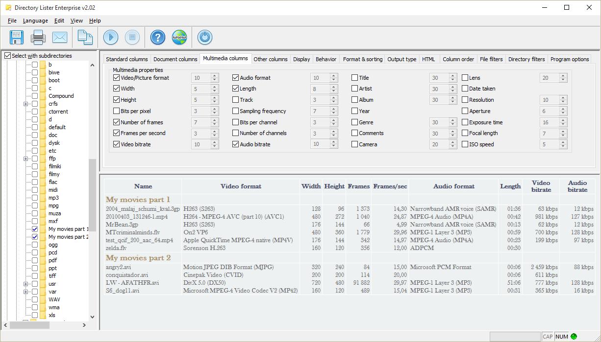 Directory Lister Pro Screenshot 14