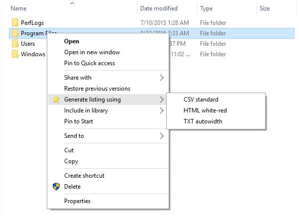 Directory Lister Pro Screenshot 15