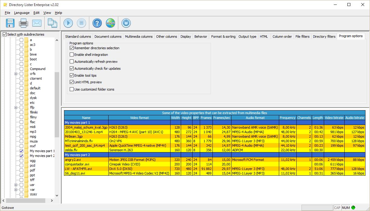 Directory Lister Pro Screenshot 12