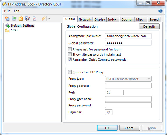 Directory Opus 9, Software Utilities Screenshot