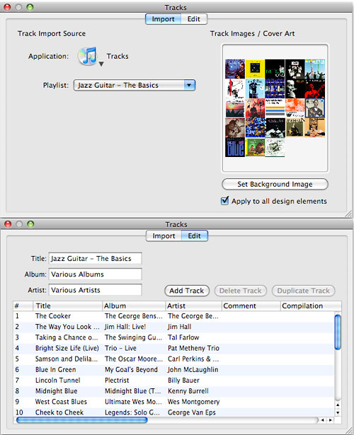 Label Creation Software, DiscLabel Screenshot