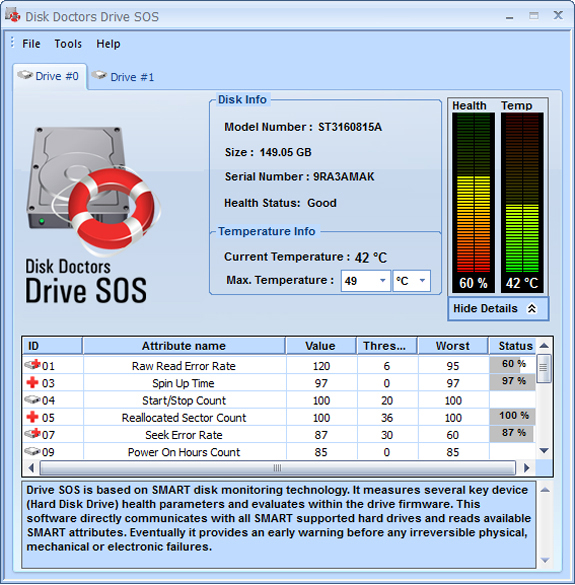 Hard Drive Software, Disk Doctors Bundle - Data Sanitizer, File Shredder and Drive Manager Screenshot