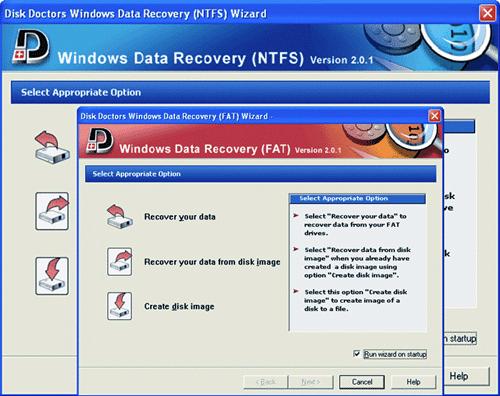 Disk Doctors Windows Recovery Bundle Screenshot
