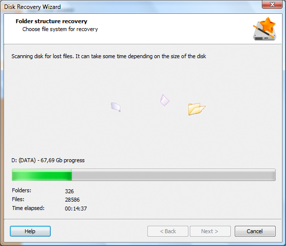 Disk Recovery Wizard  Standard License, Software Utilities Screenshot