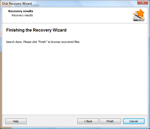 Recovery Software, Disk Recovery Wizard  Standard License Screenshot