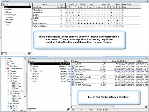 Disk Triage, Software Utilities Screenshot