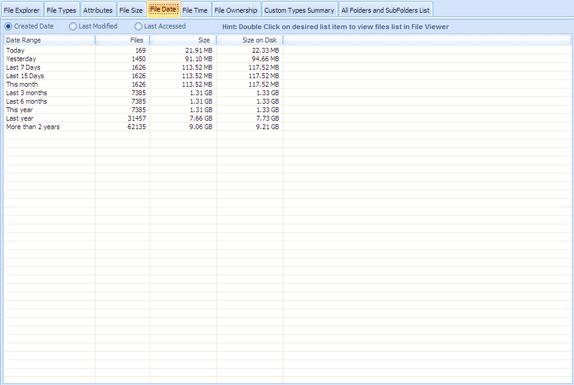 Hard Drive Software, DiskAnalyzer Pro Screenshot