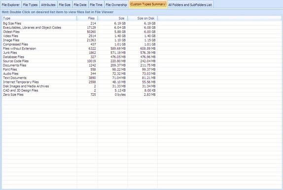 DiskAnalyzer Pro, Software Utilities, Hard Drive Software Screenshot