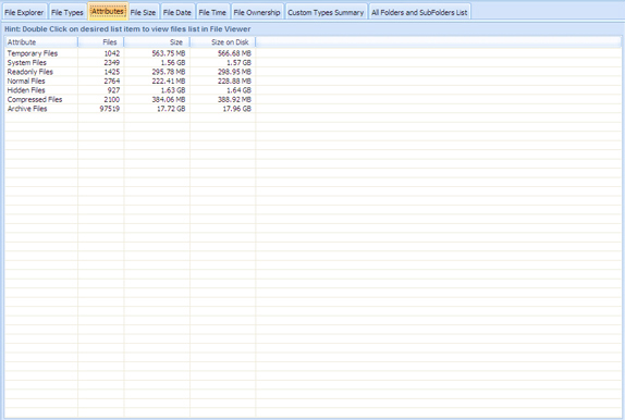 DiskAnalyzer Pro, Hard Drive Software Screenshot