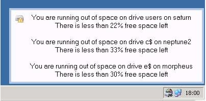 Diskmonitor Pro 5.0, Software Utilities Screenshot