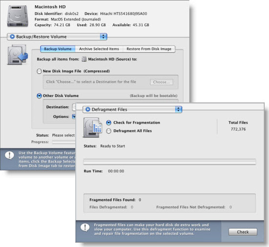 DiskTools Pro, Hard Drive Software Screenshot